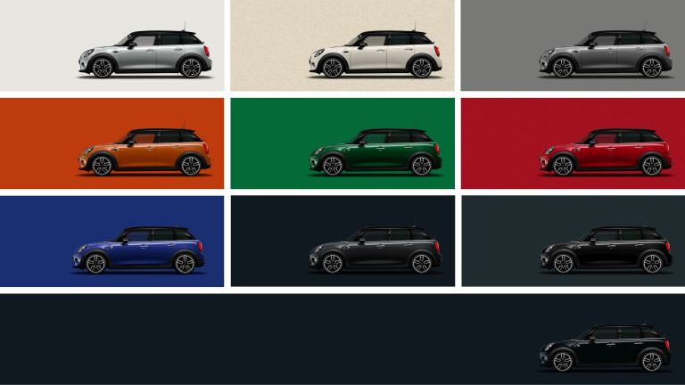 Mini Farben.Mini 5 Door Hatch Starting From 570 000 Egp
