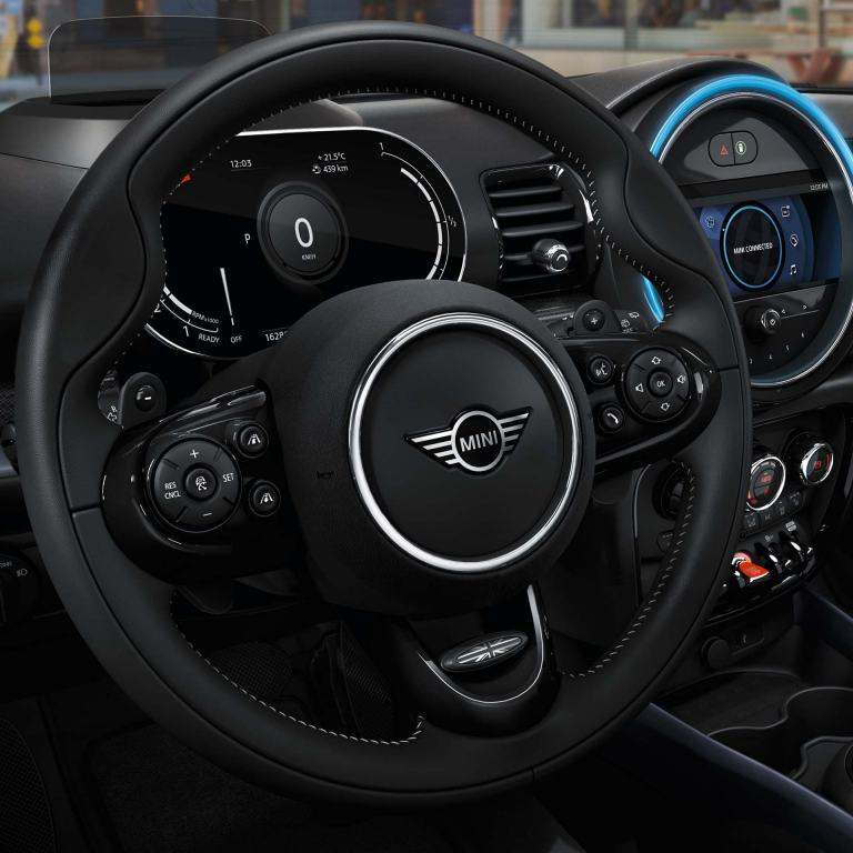 MINI Clubman – cockpit – steering wheel