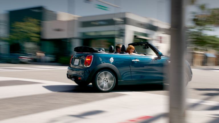 MINI Convertible Sidewalk Edition.